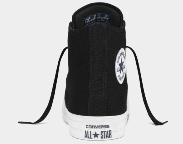 Фото Converse Chuck Taylor All Star II High черные - 2