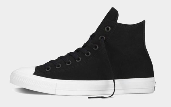 Фото Converse Chuck Taylor All Star II High черные - 1