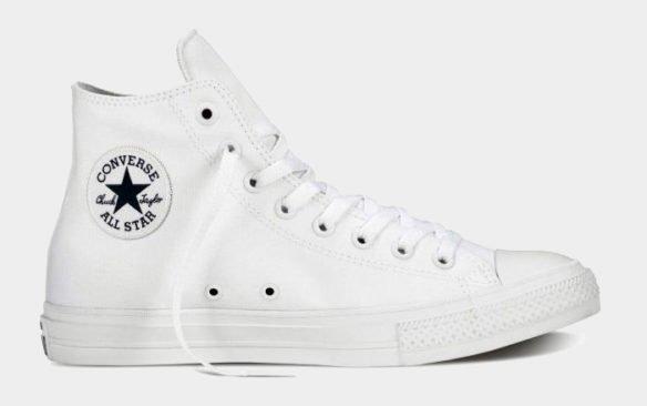 Фото Converse Chuck Taylor All Star II High белые - 4