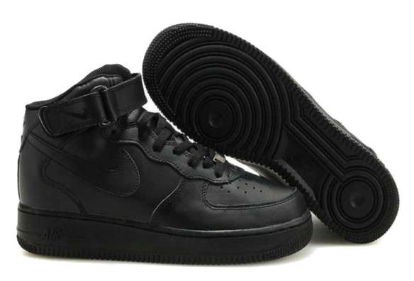 Фото Nike Air Force 1 High Черные - 1