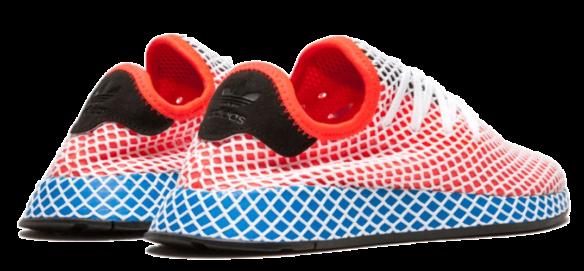 Фото Adidas Deerupt Runner J красные - 3