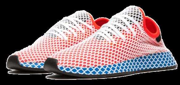 Фото Adidas Deerupt Runner J красные - 1